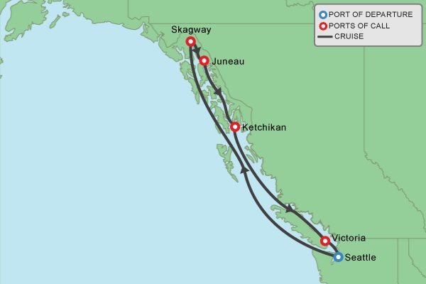 Denise Canavan - 2019 Alaska Geocaching Cruise Adventure on